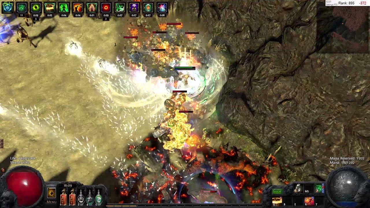 path of exile - pathfinder blade vortex