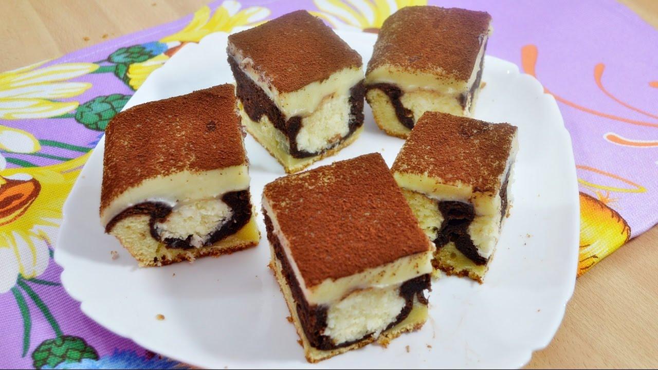 Шоколадный пирог (пляцок)