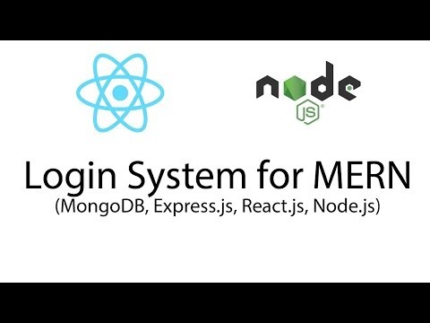 Building a Login System for a MERN (MongoDB, Express.js, React.js, Node.js) Web App