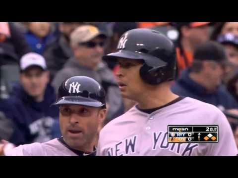 2015/10/4 MLB.TV Game of the Day New York Yankees VS Baltimore Orioles (洋基 VS 金鶯)