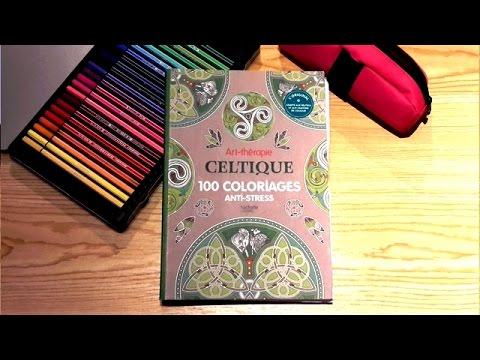 Coloriage Anti Stress Celtique.Presentation Du Livre Art Therapie Celtique Hachette