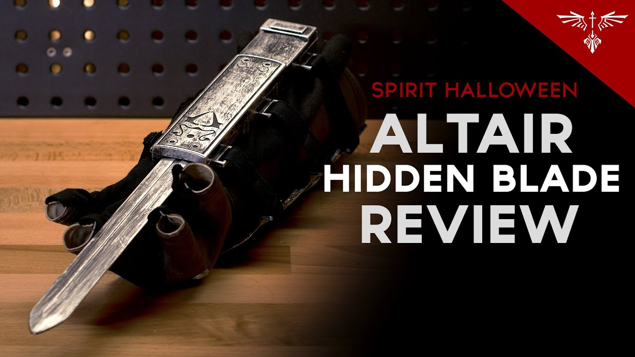 Altair Hidden Blade And Vambrace Review Youtube