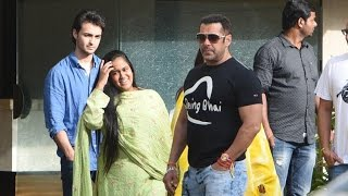 (Video) Salman Khan Takes His Family For An Outing Raksha Bandhan