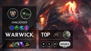 Warwick Top vs Camille - EUNE Challenger Patch 10.15