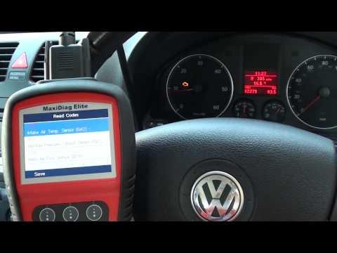VW Jetta Fault Codes 00275 00568 00258 & Check Engine Light Diagnostic Erased