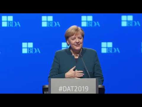Deutscher Arbeitgebertag 2019 - Rede Bundeskanzlerin Angela Merkel