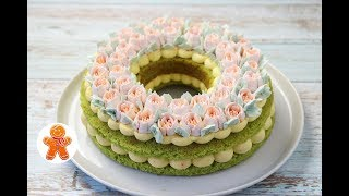 "Торт ""Весенний"" ✧ Spring Cake (English Subtitles)"