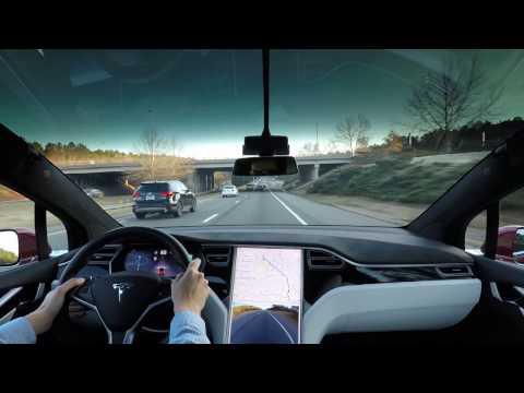 1. Tesla AP1 commute: Cary to Durham, North Carolina