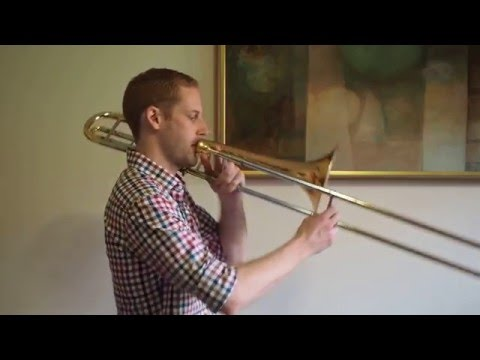 D Major Scale - Trombone - YouTube