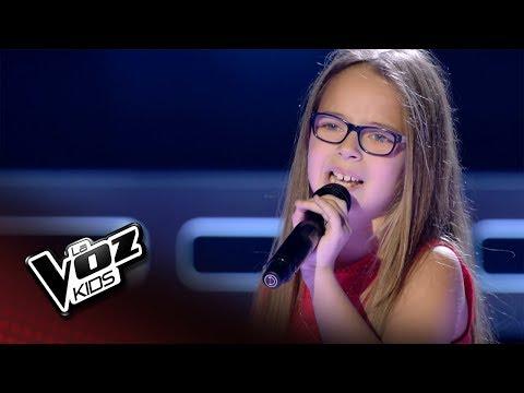 """Naiala: """"Estoy Hecho De Pedacitos De Ti"""" – Audiciones A Ciegas  - La Voz Kids 2018"""