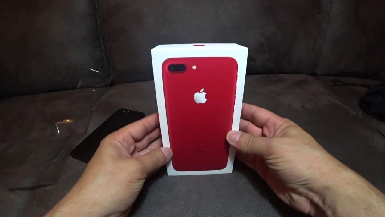 Kırmızı iPhone 7 Plus elimizde! Ama bi sorun; neden kırmızı?