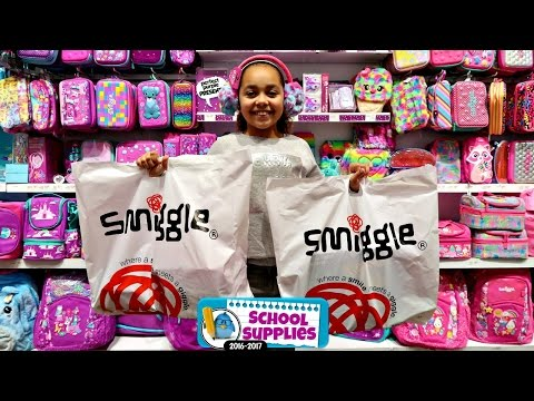 Thumbnail: Smiggle School Supplies - Shopping For Clothes & Birthday Presents - Surprise Toys For Kids