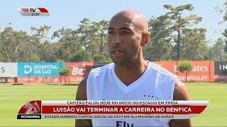 Luisão Vai Terminar a Carreira no Benfica - 09 Julho 2018