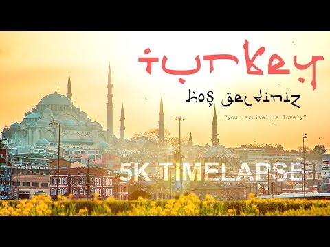 5K Timelapse Turkey - Your arrival is lovely...!!