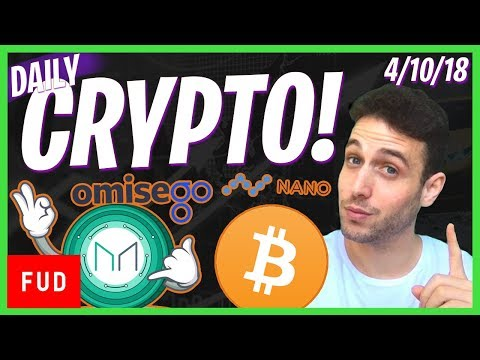 Daily Crypto News: Bitcoin Banned in Canada? OmiseGo MakerDAO, Ontology Bull Run, Nano Legal Fund
