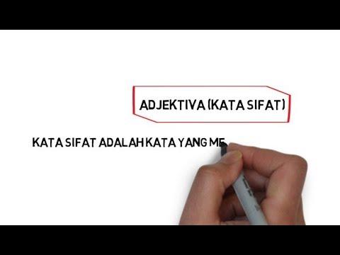 Adjektiva Bahasa Indonesia Pengertian Dan Contoh Kata Sifat