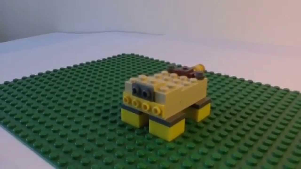 Картинки лего оцелота из майнкрафт