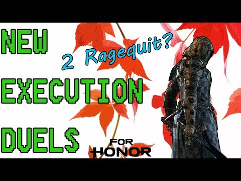 [For Honor] PK Duels - 2 Ragequits in 1 Day - New Execution