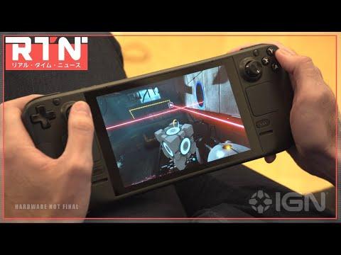 ValveがSwitchのような携帯ゲーム機「Steam Deck」を発表! 価格は399ドルから :RTN 7/16 2021