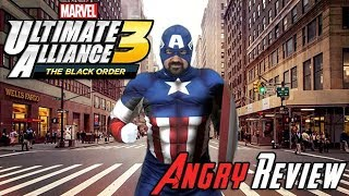 Marvel Ultimate Alliance 3 Angry Review (Video Game Video Review)