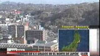 Un sismo 6,5 grados alarmó a Japón, Noticias Perú   Trome