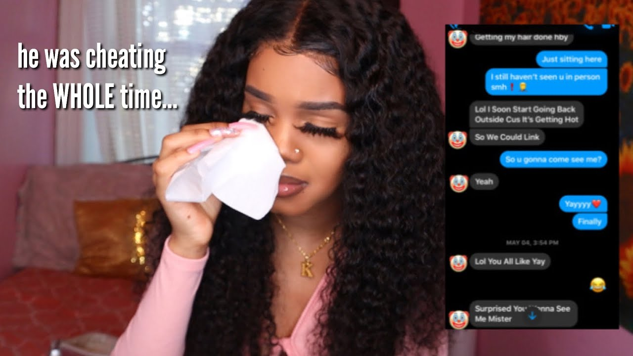 i got cheated on...*with receipts*