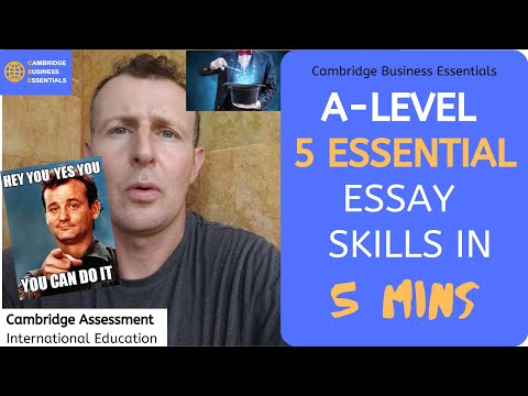 5 Essential A level Business Essay Skills in 5 mins