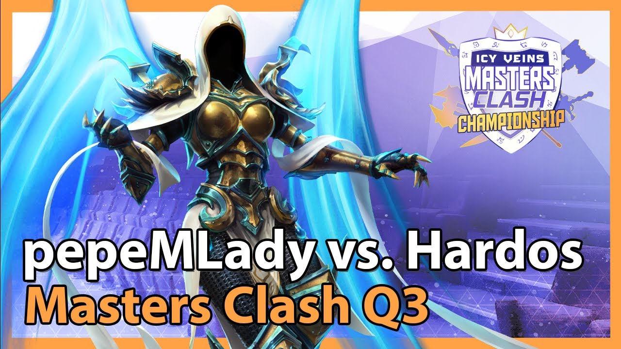 Hardos vs. pepeMLady - Masters Clash Q3 - Heroes of the Storm