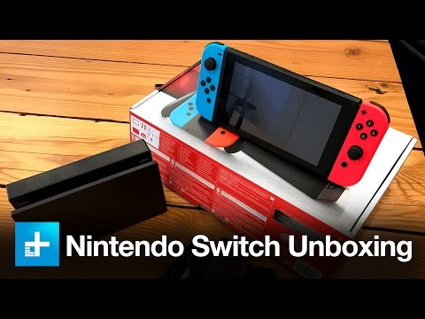 Nintendo Switch Unboxing - Hands On