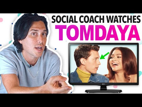 Social Coach Reacts to TOM HOLLAND and ZENDAYA from YouTube · Duration:  12 minutes 8 seconds