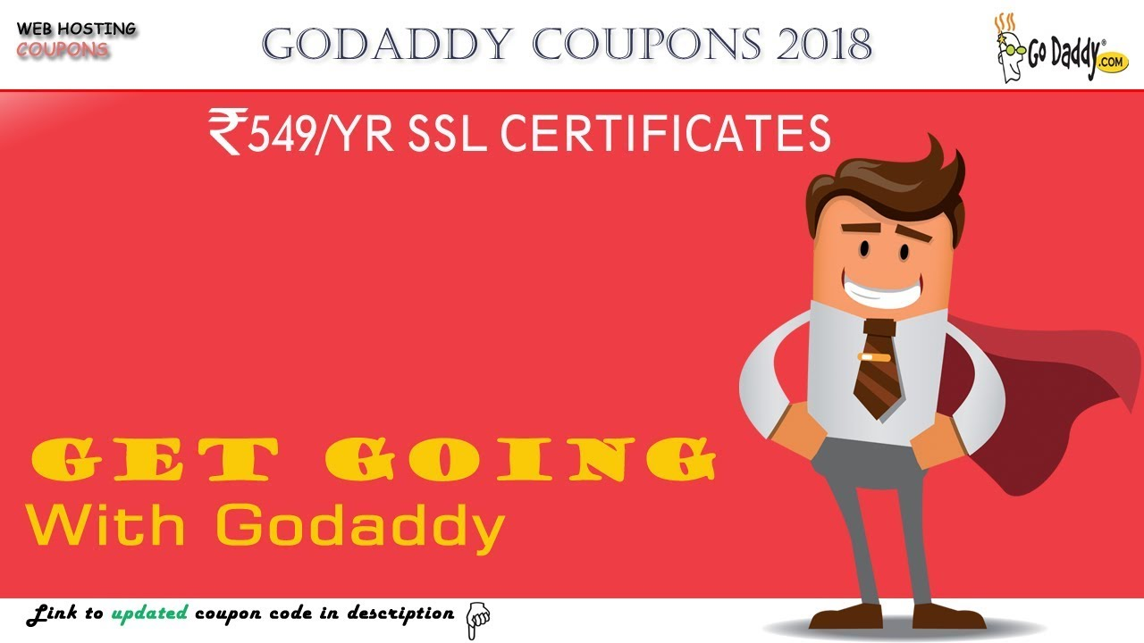 Godaddy Offer Promo Code 2018 For Ssl Certificate Youtube