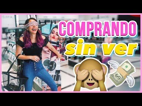 COMPRANDO MAQUILLAJE SIN VER ♥ Jimena Aguilar