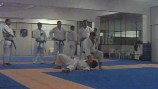 Aula de Bunkai Kata Heian Godan Andre Maraschin Karate Shotokan.wmv