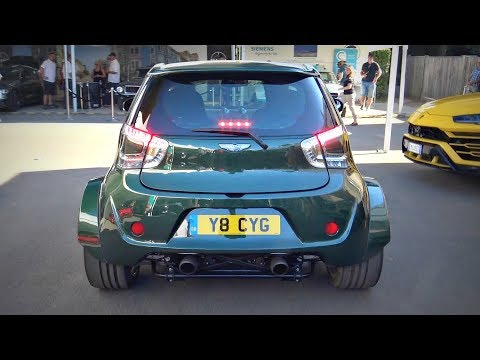 Aston Martin Cygnet with 4.7L V8 Engine SWAP! - 430BHP, 1375kg CRAZY Pocket Rocket!