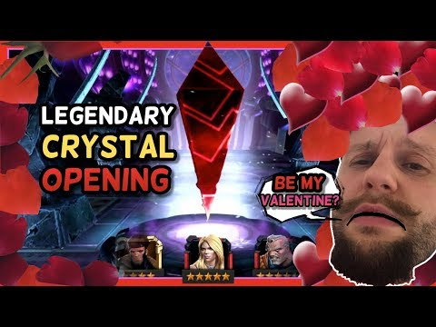 Legendary and Grandmaster Shattered Heart Crystal Opening - Marvel Contest of Champions - 동영상