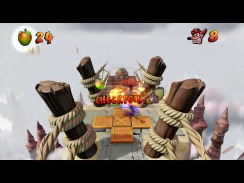 Crash Bandicoot N. Sane Trilogy - Crash 1 - The High Road (Walkthrough, Easiest way to beat this)