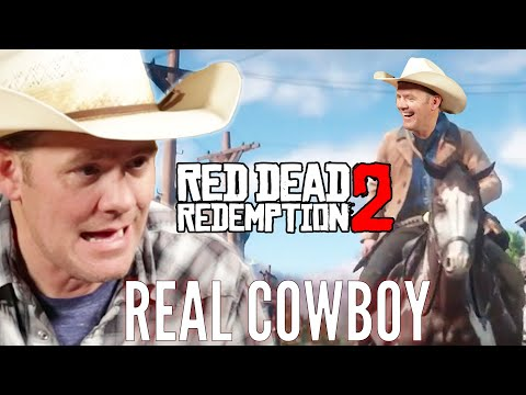 "A Real Cowboy Plays ""Red Dead Redemption 2"""