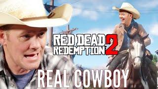 A Real Cowboy Plays