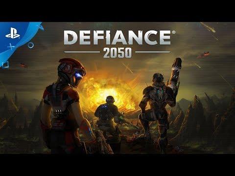 Defiance 2050 – Launch Trailer | PS4