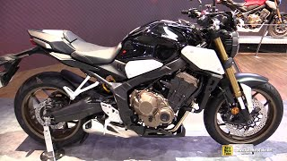 2019 Honda CB650R Black - Walkaround - Debut at 2018 EICMA Milan