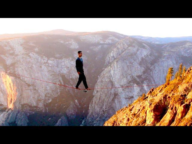 Julien Desforges - Court métrage slackline 2015 - Version française