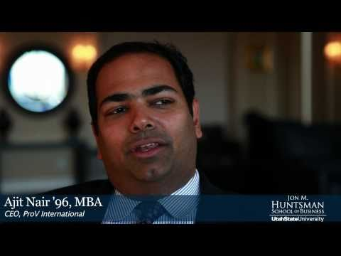 Ajit Nair '96, MBA