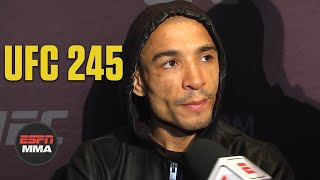 Jose Aldo says he feels great cutting down to 135 pounds | UFC 245 Media Day | ESPN MMA