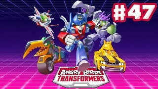 Angry Birds Transformers - Gameplay Walkthrough Part 47 - New Cave Area! Strongarm Rescued! (iOS)