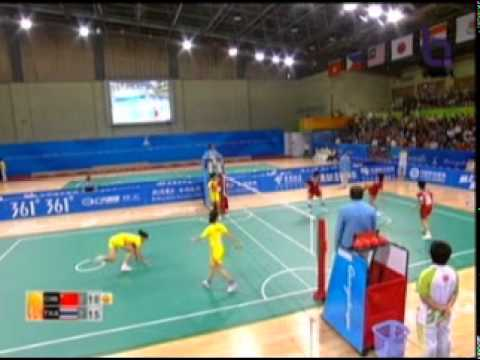 Sepak Takraw(Women's Team A+B) @2010 Asian Games - Thailand vs China (Gold Medal Match) 10/10