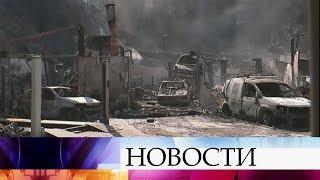 Природные пожары, бушующие вЕвропе, угрожают сорвать отдых миллионам туристов.(, 2017-07-19T07:15:34.000Z)