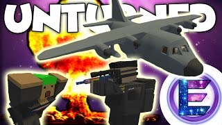 NUKE vs AC130 GUNSHIP !? - Unturned