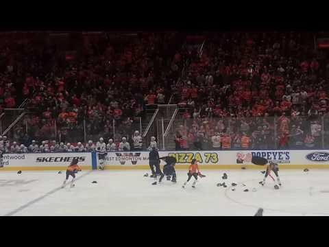 Edmonton oilers mcdavid hat trick