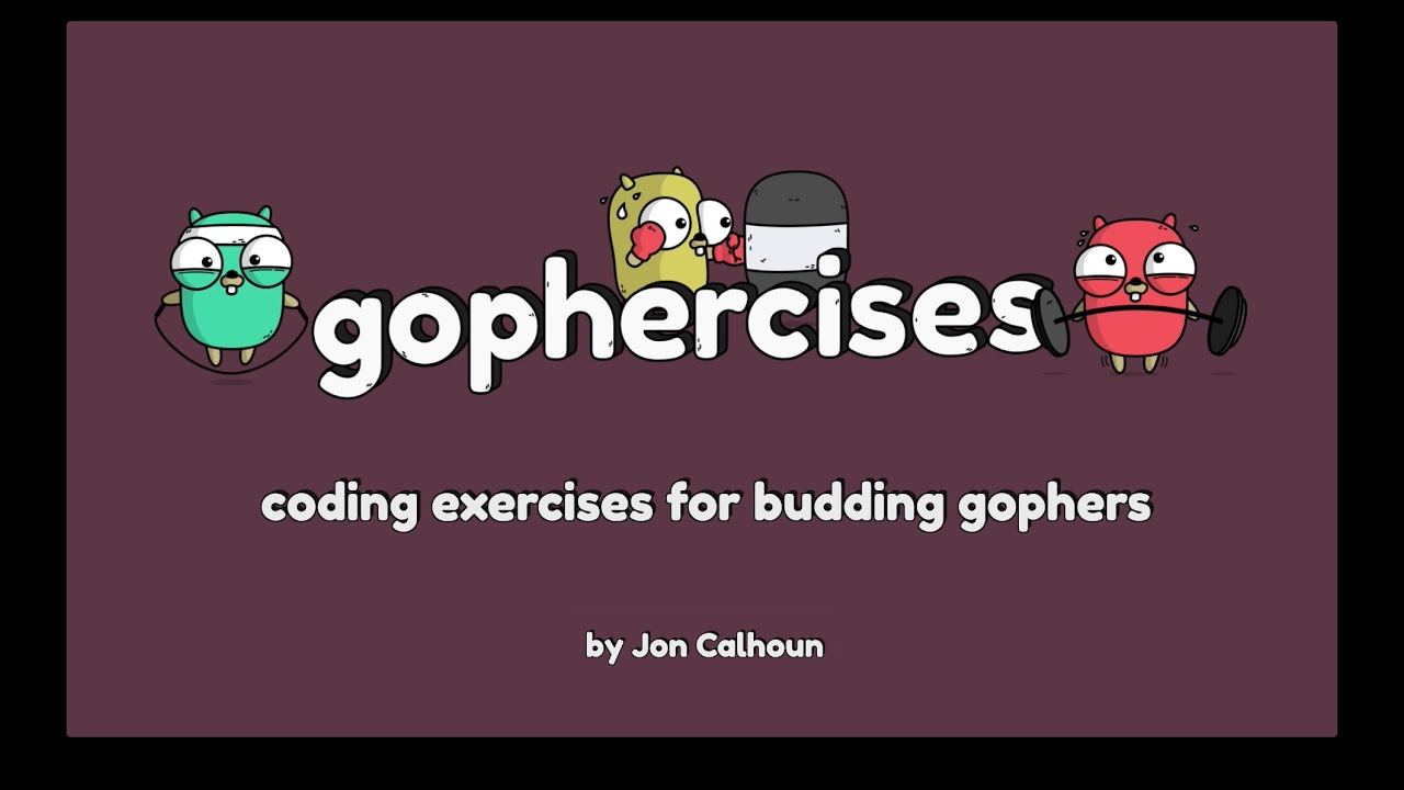 Gophercises #0 - Introduction