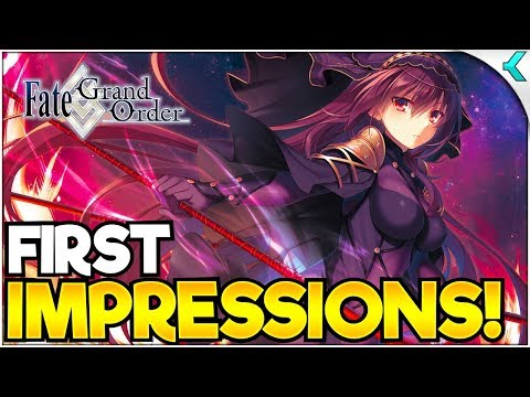 FATE/GRAND ORDER | The GRAND Rpg!! FIRST IMPRESSIONS IN 2019!